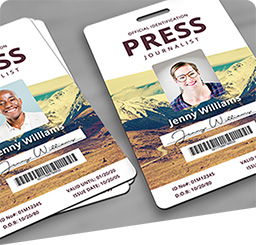 Event Passes, Access Cards and ID Badges.