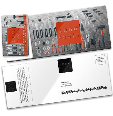 Plastic postcard direct mailer PCDM211 custom printed by CardPrinting.com