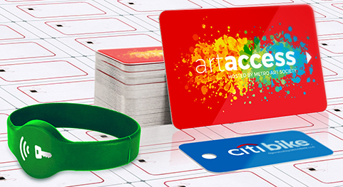 CardPrinting.com custom printed RFID Smart cards and key tags