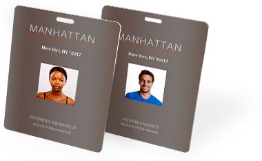 Event and ID badges of all sizes custom printed by CardPrinting.com
