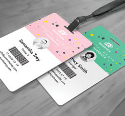 CR80 ID Badges, Event Passes, Access Cards