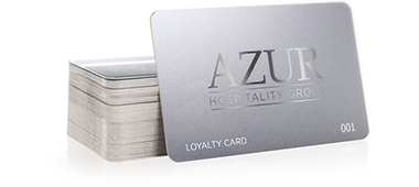 Custom printed loyalty cards by CardPrinting.com