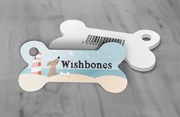 Dog Bone Key Tag